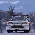 N° 1  Timo Salonen  Seppo Harjanne sur Peugeot 205 T16